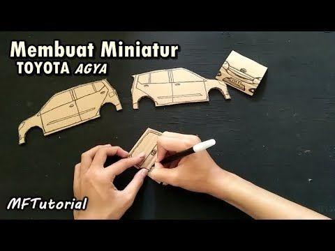 Cara Membuat Miniatur Mobil Toyota Agya Dari Kardus Ide Kreatif