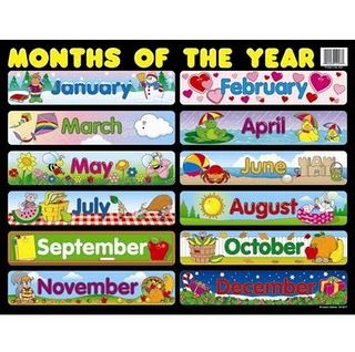 Activipeques Meses Del Ano En Ingles English For Them Pinterest