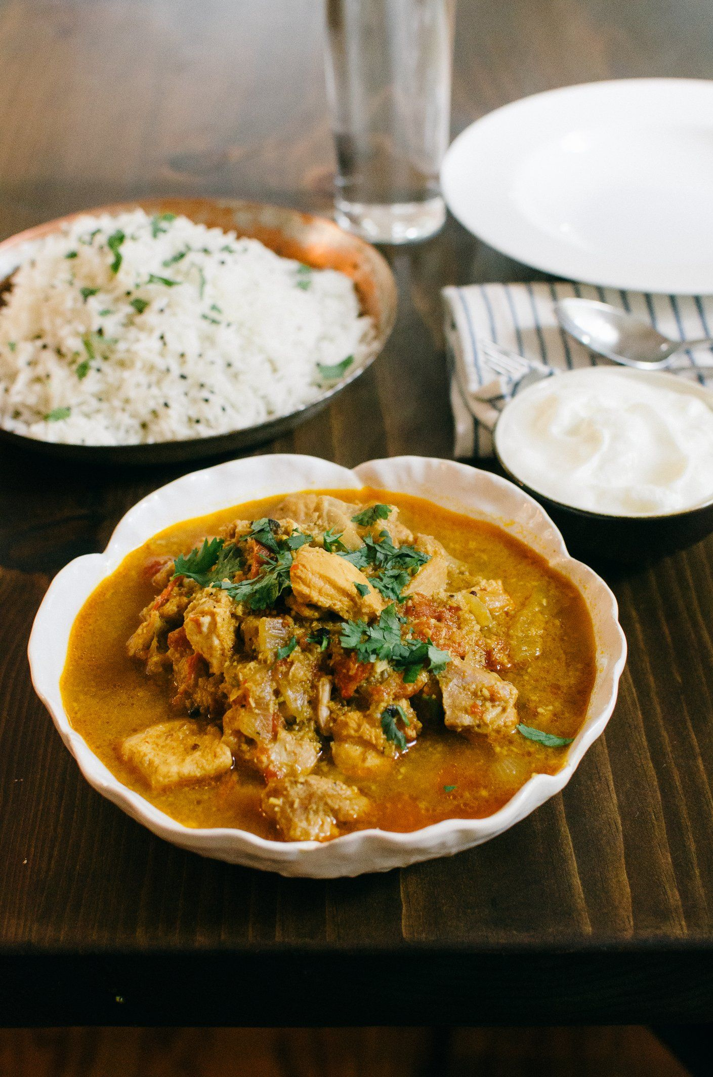 Pressure Cooker Recipe:  Kerala Coconut Chicken Curry   Recipes from The Kitchn
