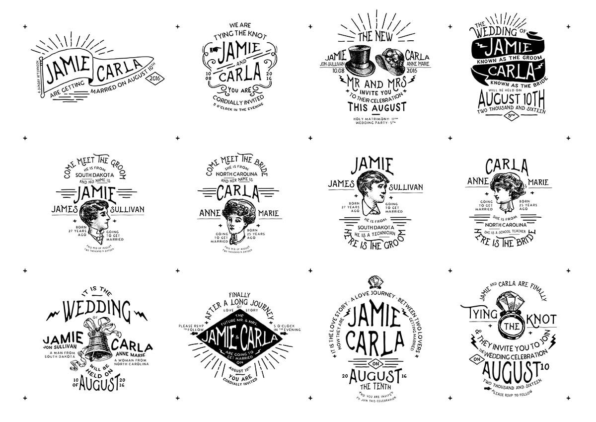 Vintage Wedding Badges And Stickers Vector Free Download Wedding Badges Free Wedding Cards Vintage Wedding