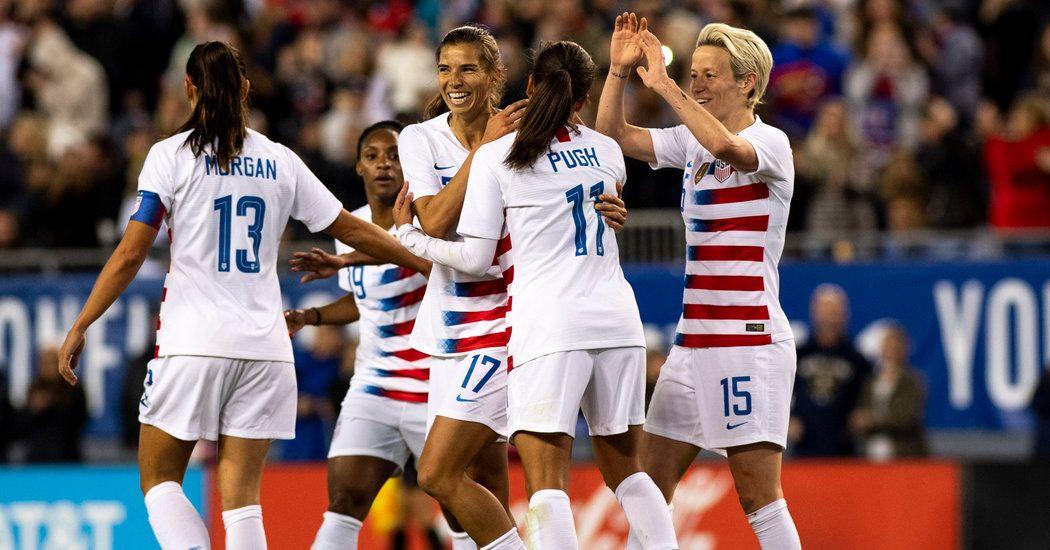 U S Women S Soccer Team Sues U S Soccer For Gender Discrimination Women S Soccer Team Womens Soccer Women S Soccer