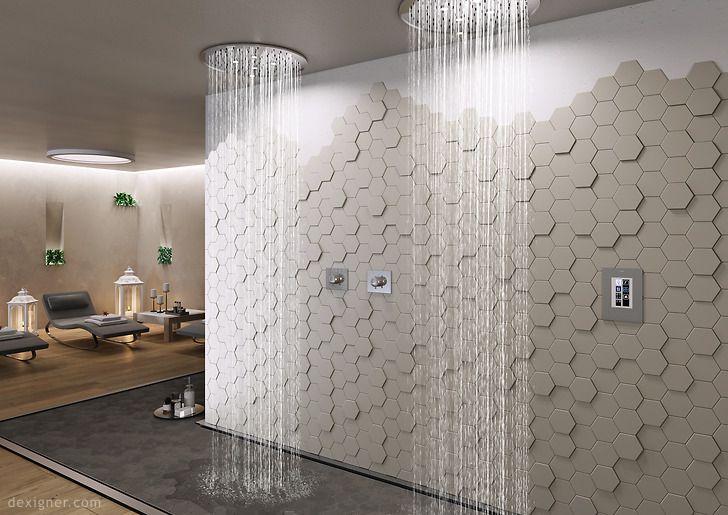 Nemo Unveils Three Dimensional Tile Collection Dimensional Tile Natural Stone Tile Minimalist Interior