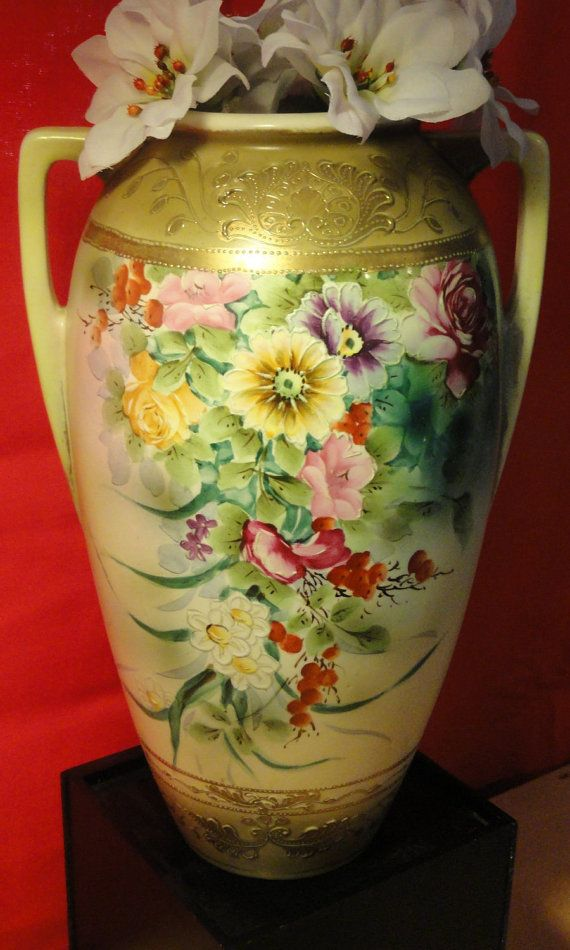 Gorgeous Antique Nippon Vase By Royal Nishiki By Thefoundry12