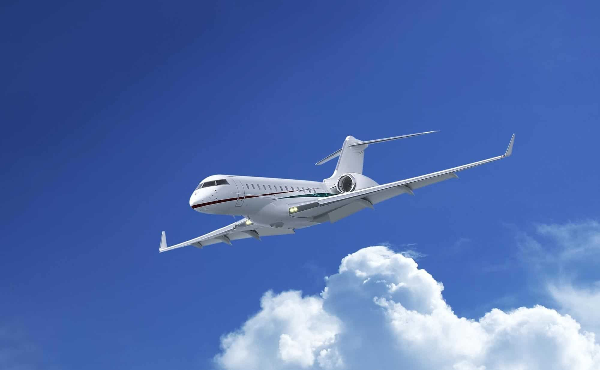 Why are Most Private Jets for Charter White in Color