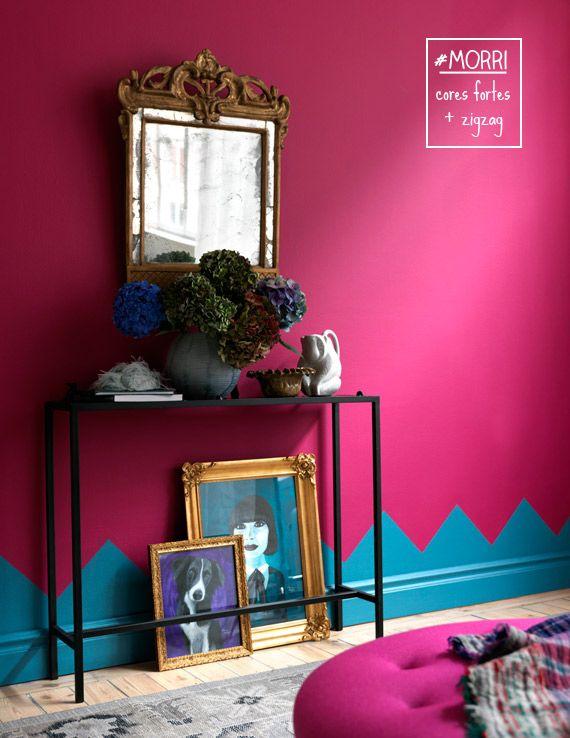blog de decora o deux couleurs qui vont bien ensemble pour les murs la frise. Black Bedroom Furniture Sets. Home Design Ideas
