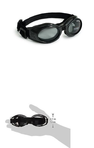 Sunglasses and Goggles 116376: Doggles Originalz Frame Goggles For Dogs With Smoke Lens Chrome M New -> BUY IT NOW ONLY: $30.3 on eBay!