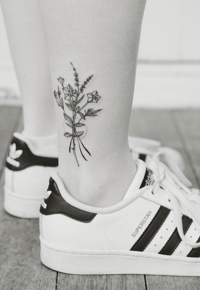15+ Tatouage bouquet de fleur trends