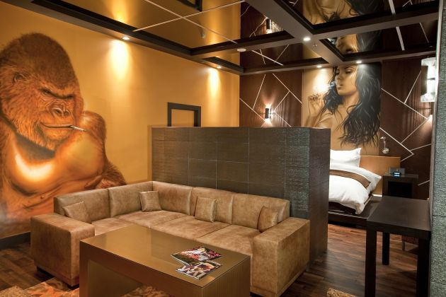 Pool Suites At The Hard Rock Hotel Las Vegas By Chemical Spaces Urban Interior Design Ideas