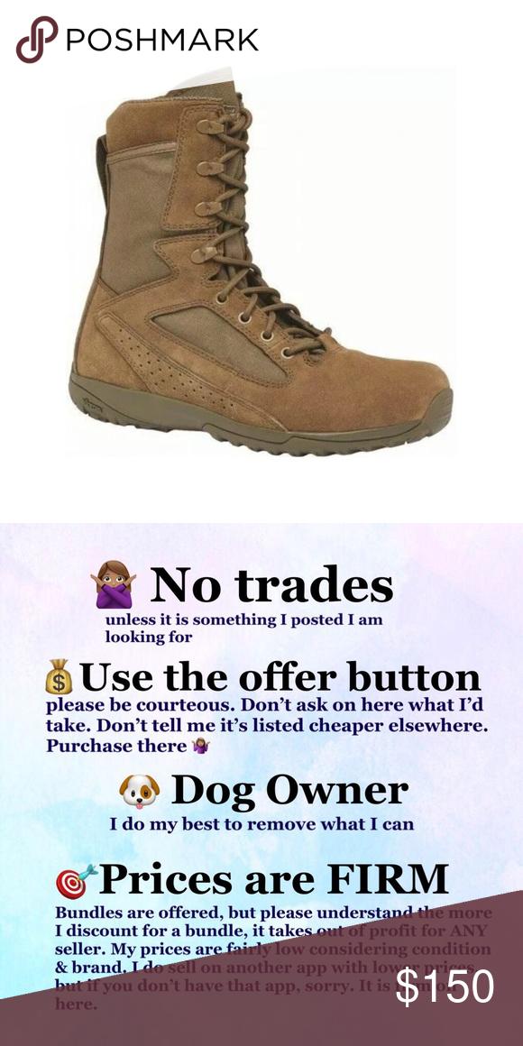 Belleville Tactical 115 Mini Mil Coyote Tan Boot Boots Tan Boots Size 6 Women
