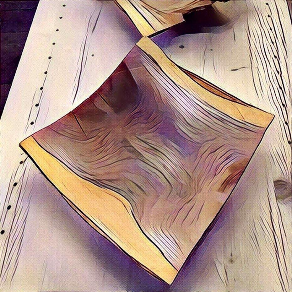 Schüssel aus Zwetschkenholz