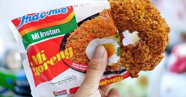 Donat Indomie Dunia Kuliner Di Indonesia Saat Ini Sedang Di