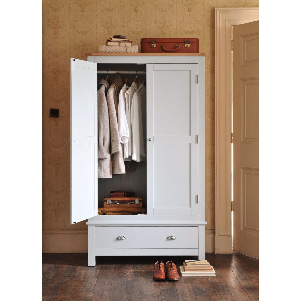 Portland Grey Gents Wardrobe from The Cotswold Company  Free Delivery   Free  Returns  Country. Portland Grey Gents Wardrobe from The Cotswold Company  Free