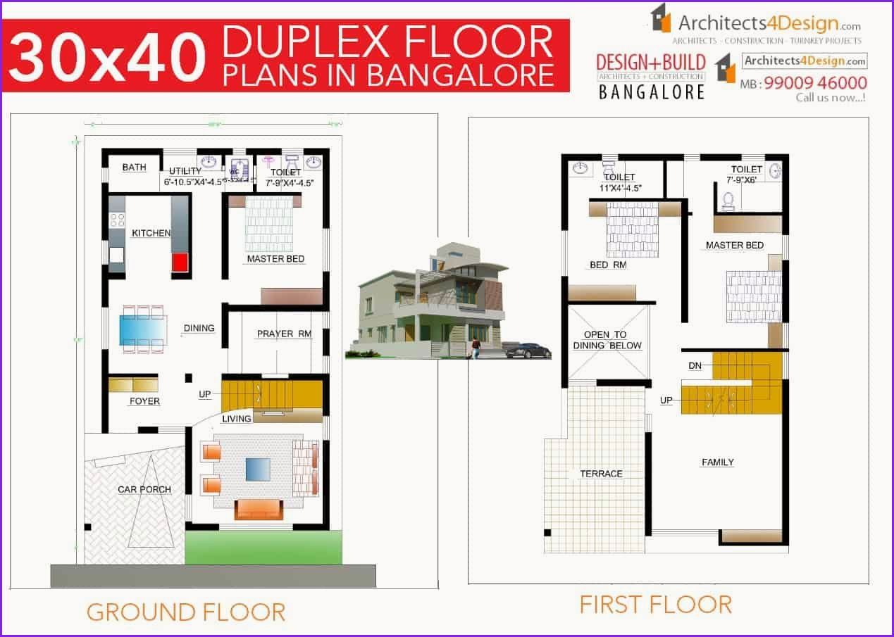 Awesome 30 X 40 House Plans 30x40 House Plans 2bhk House Plan House Floor Plans