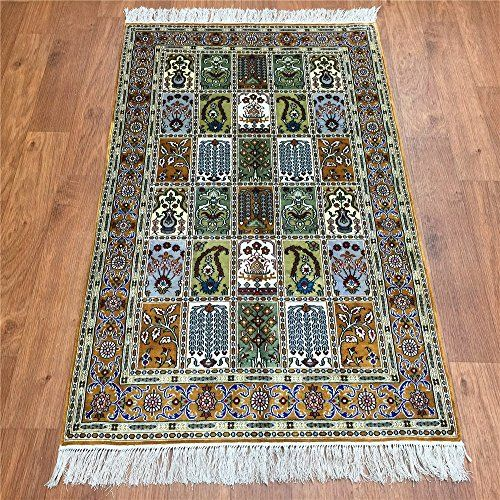 Camel Carpet 2.5x4 Handwoven Persian Four Season Silk Carpet http://www.amazon.com/dp/B01FD4ZJYE/ref=cm_sw_r_pi_dp_rGemxb0D35DZB