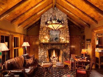 Star Lake Cabin Rental Luxurious Yet Quaint Old World