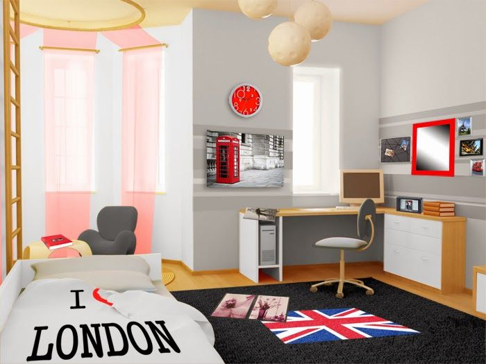 Dormitorios juveniles muy modernos Proyectos Pinterest Room
