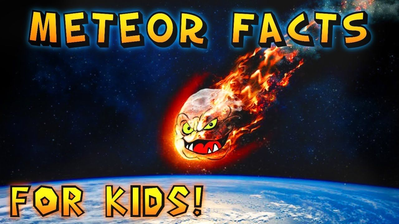 Meteor Facts For Kids Meteor Facts Facts For Kids Star Facts