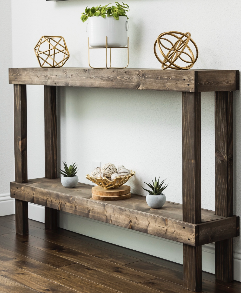 Home Sofa Table Decor Rustic Sofa Tables Console Table Decorating