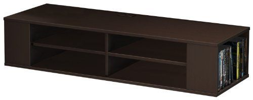 South Shore City Life Wall Mounted Media Console Shelf, Chocolate by South Shore, http://www.amazon.com/dp/B00C0NV5AO/ref=cm_sw_r_pi_dp_AO6psb0PRDF8B