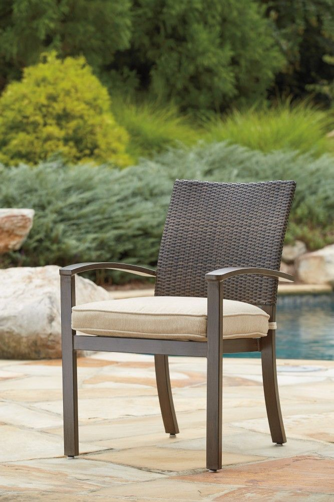 Moresdale Brown Chair With Cushion 4 Cn P457 601a Patio
