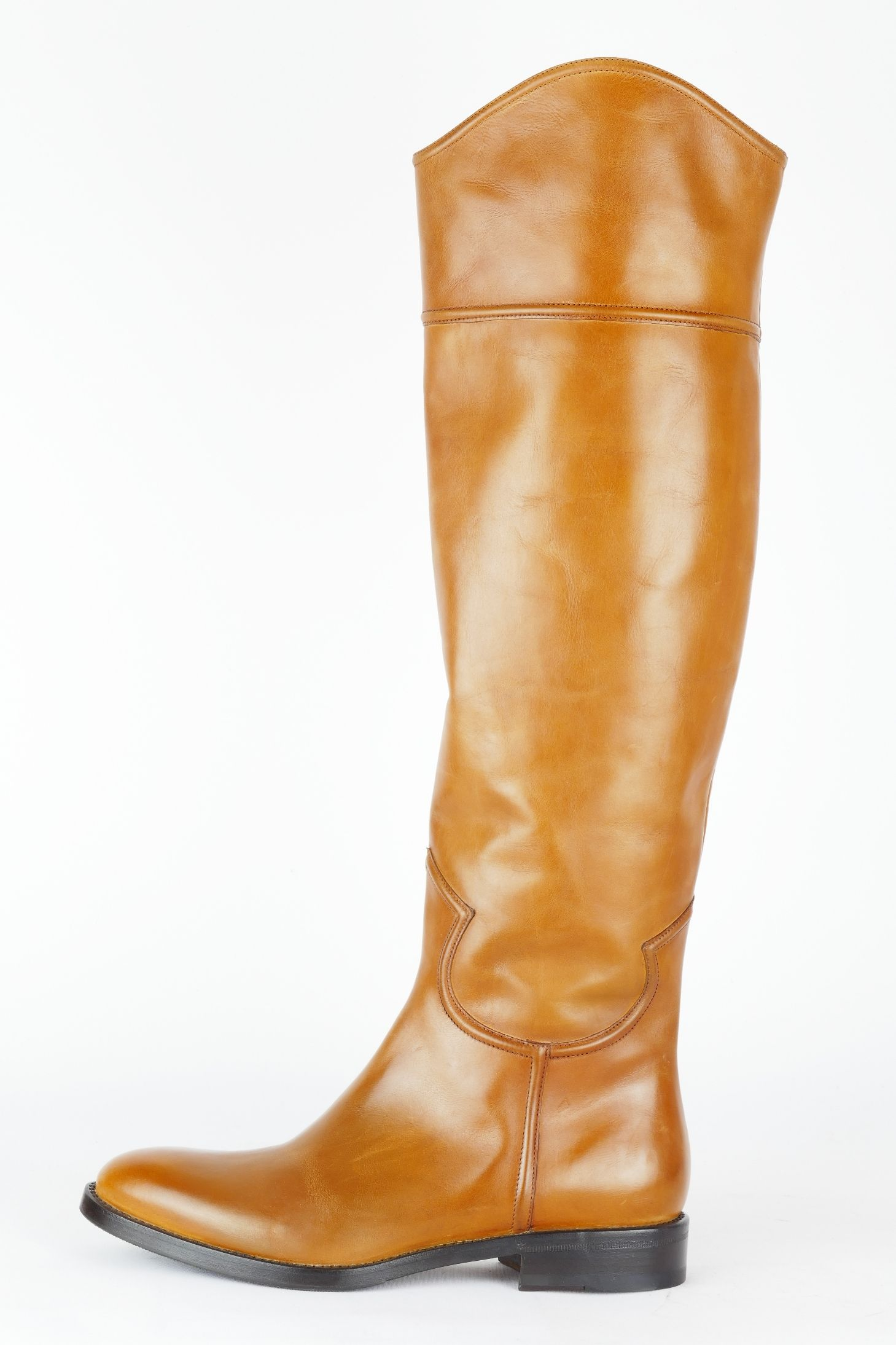 Cognac thigh boots and jeans outfit   Stiefel, Jeans stiefel