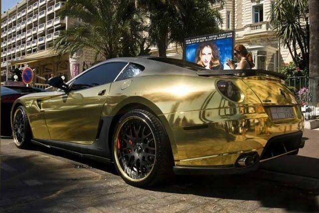 Cool Gold Cars Cool Cars Blog سيارات Pinterest Modified - Cool cars blog