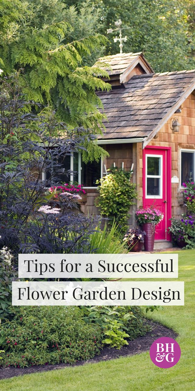 Home garden design flower  Tips for Successful Flower Garden Design  Gardening  Pinterest