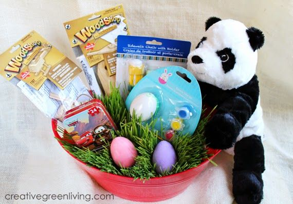 Affordable candy free easter basket ideas basket ideas easter easy candy free easter basket ideas from the dollar store and ikea negle Images