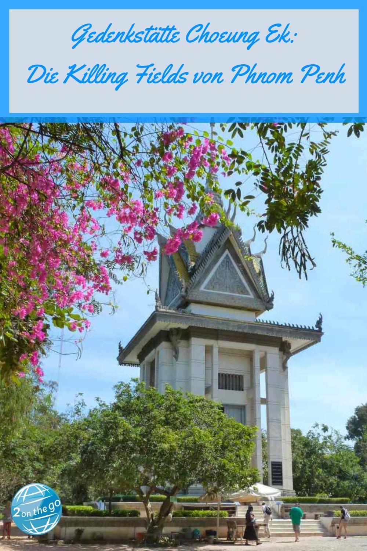 Alles, was du für deinen Besuch der Gedenkstätte wissen musst. Die Killing Fields erinnern an die Gräueltaten der Roten Khmer unter Pol Pot. Der Besuch dort ist erschütternd, aber auch im Urlaub in Kambodscha wichtig, um die Geschichte des Landes zu verstehen. Unser Bericht und unsere Tipps findest du im Artikel. Klick jetzt für alle Infos!#killingfields#kambodscha#phnompenh#urlaub#reise