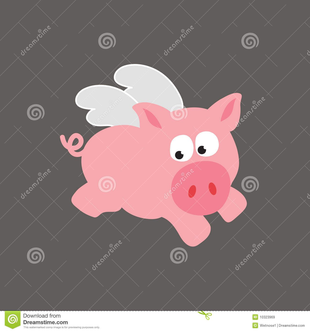 Image result for flying pig cartoon cute with images