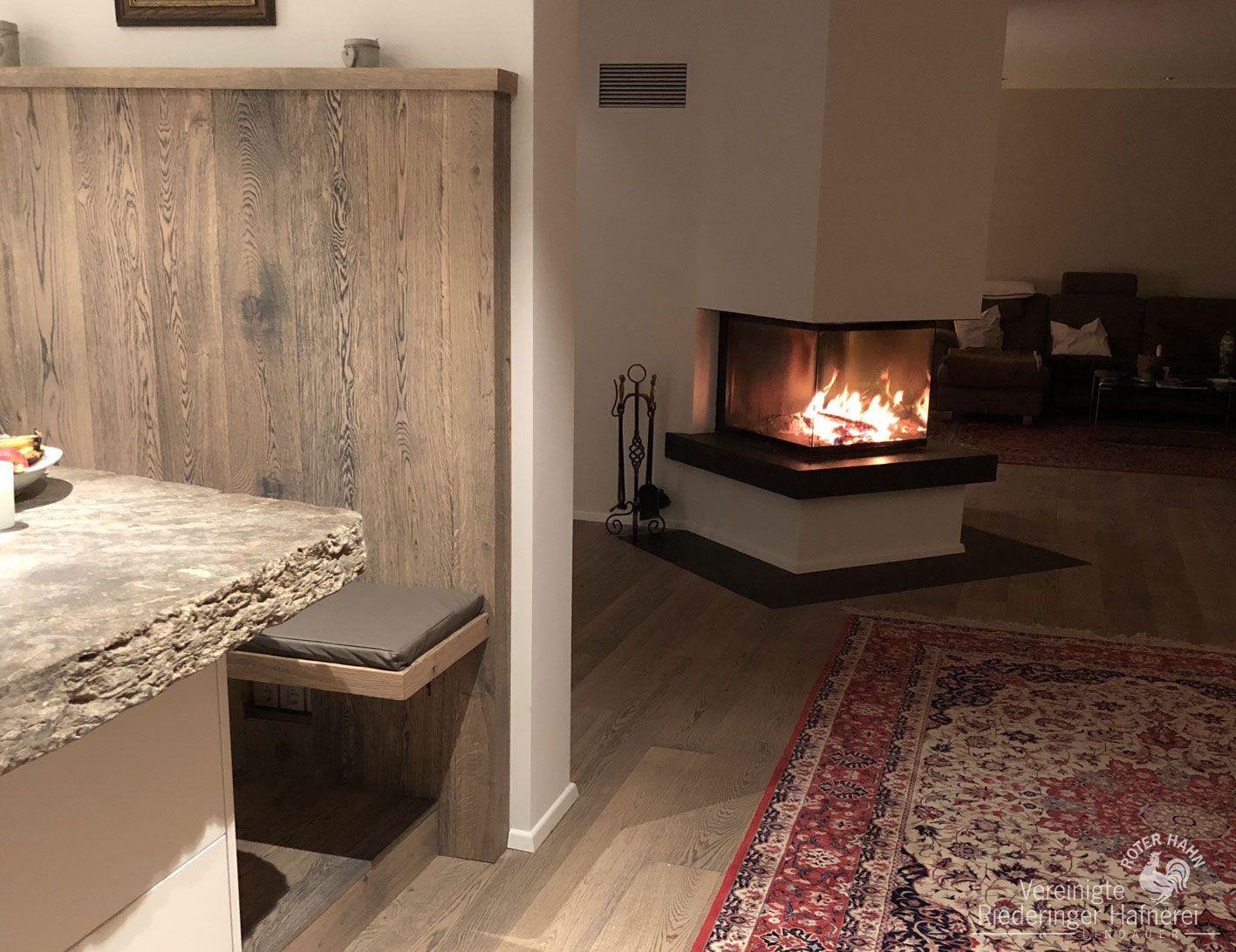 Eine Feuerstelle Steht Fã¼R Genuss Von Flammenzauber Und Romatik Vor