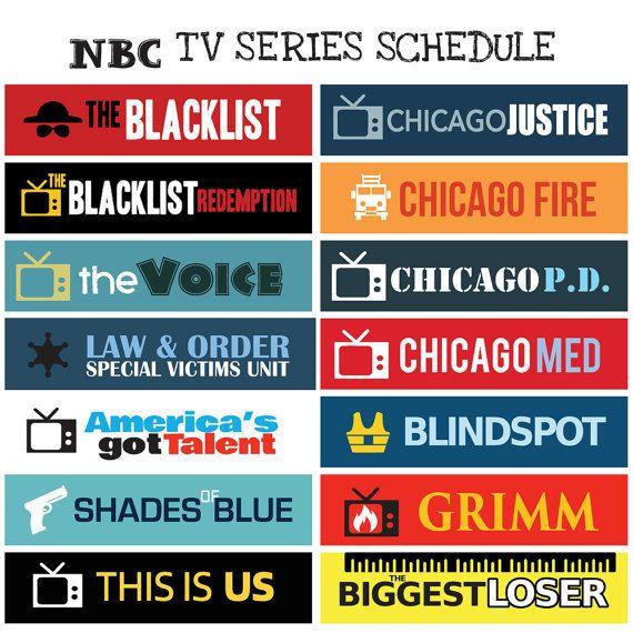 Nbc network tv series full seasons 2016 2017 schedule by fasyshop