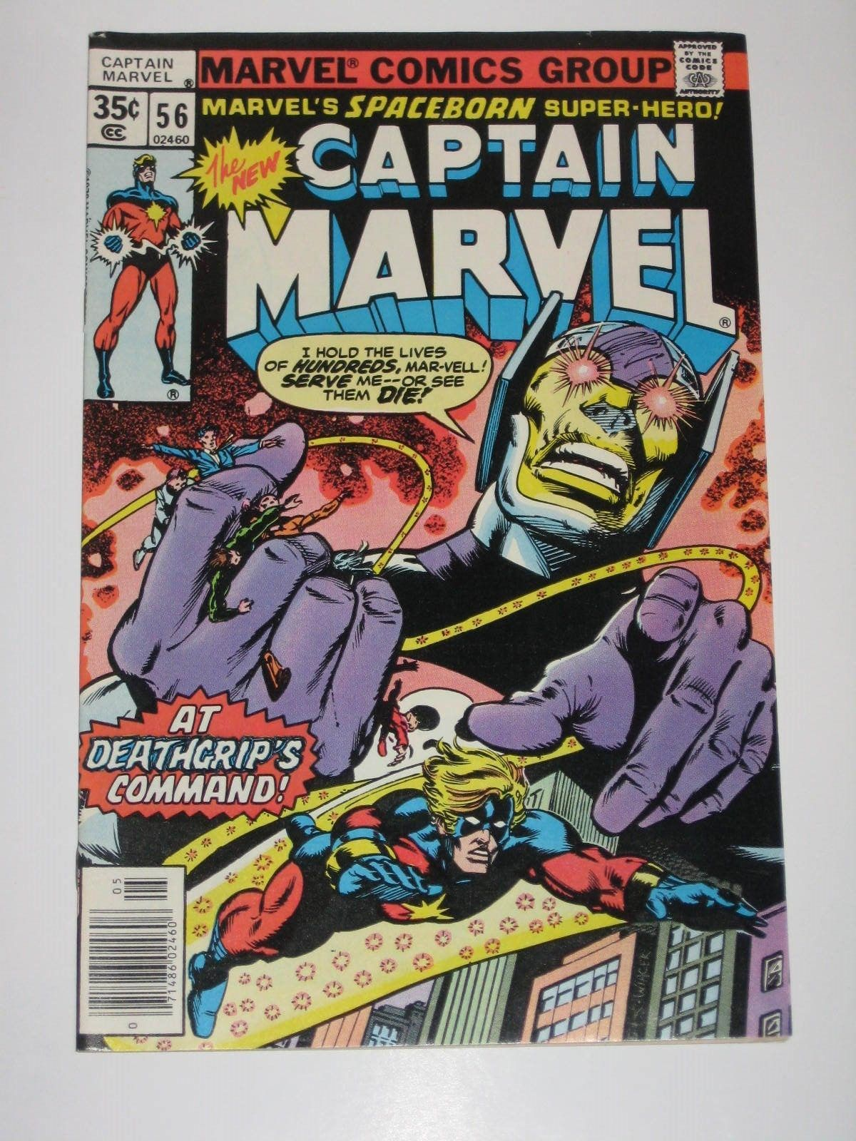 captain marvel 56