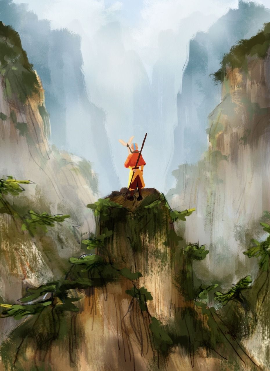 But I believe that Aang can save the world... Avatar a
