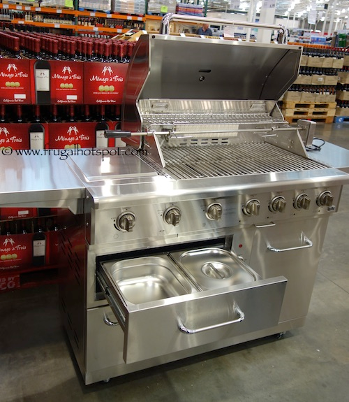 Costco Nxr 7 Burner Premium Stainless Steel Propane Gas Grill