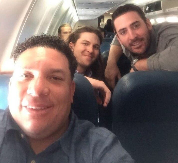New York Mets pitcher selfie: Bartolo Colon Jacob deGrom and Matt Harvey