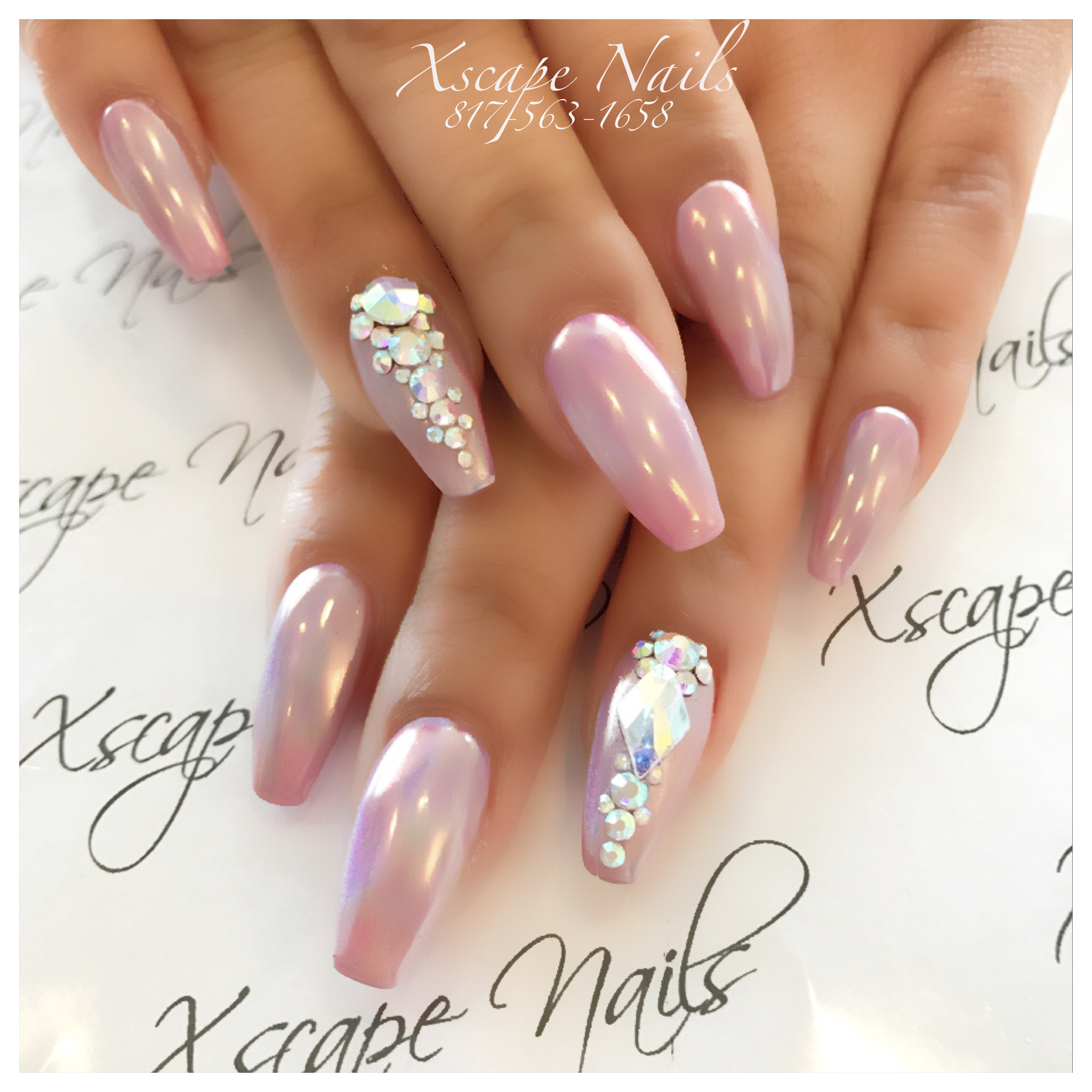 Chrome Nail Art Designs: Cute Nails Designs