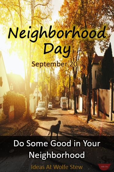 What can you do to today to improve your neighborhood? #dogood #wontyoubemyneighbor #lovewhereyoulive