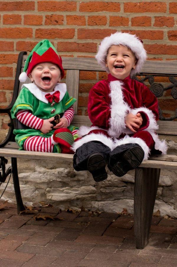 kinderkostüme elf weihnachtsmann