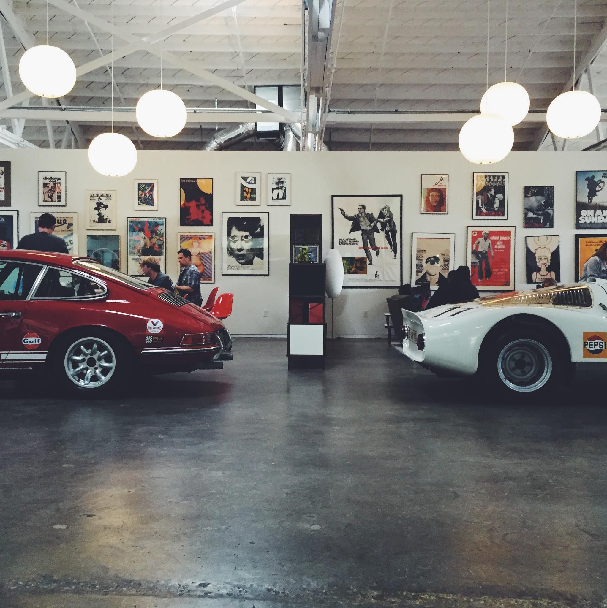 Luftgekuhlt at the shop #BanditoBTS @Luftgekuhlt @DeusEmporium @Porsche @PLMotorsport @ZwartSpeed @rbslavin