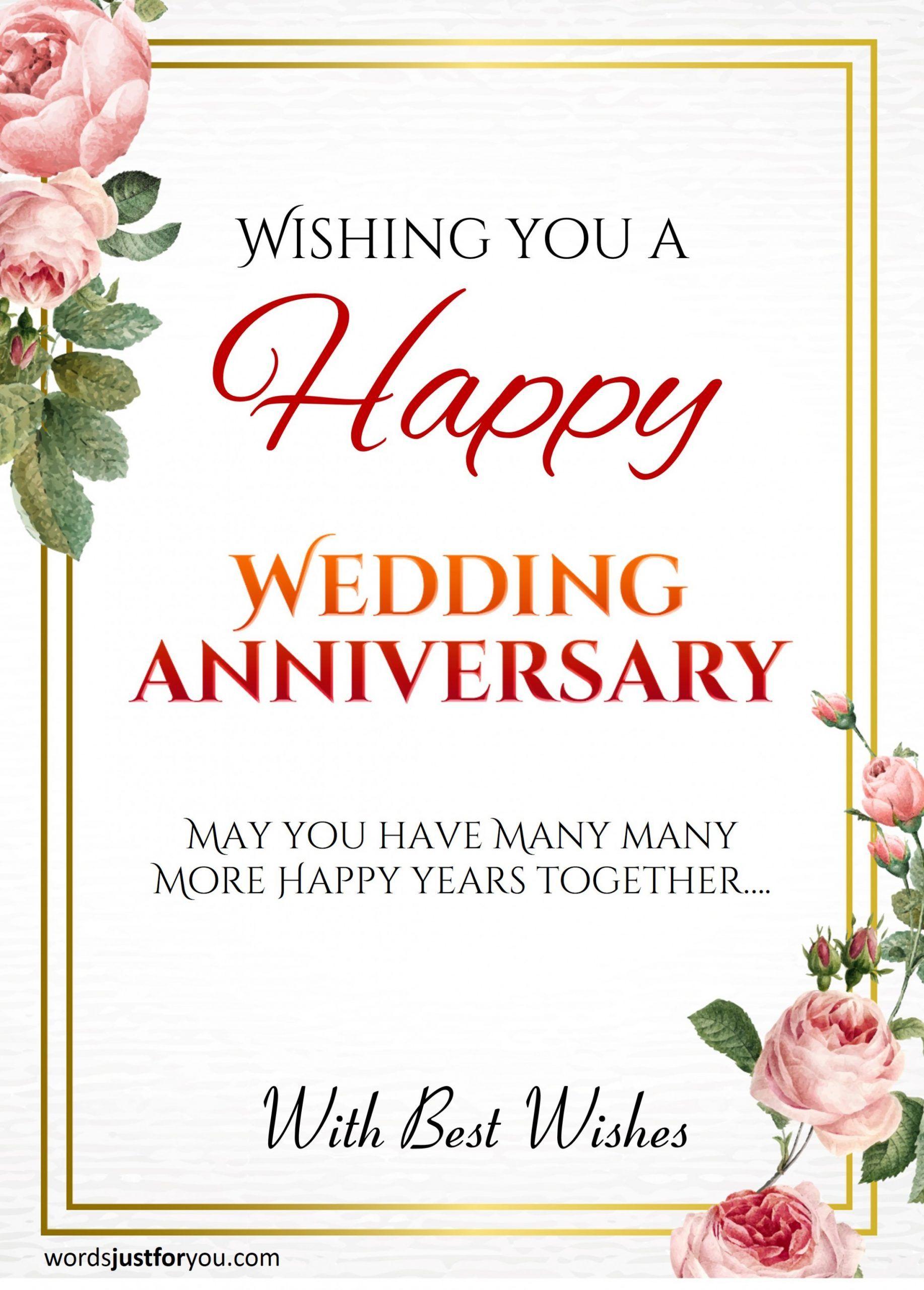 8 New Ideas Happy Wedding Anniversary Card Wedding Anniversary Cards Happy Wedding Anniversary Cards Happy Marriage Anniversary