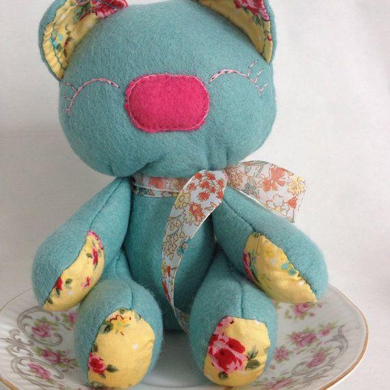 Teddy Bear 'Macho Monkey Bear Claire' on Etsy, £11.99 ...