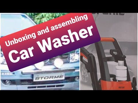 Unboxing + Assembling of American Micronic Car Washer