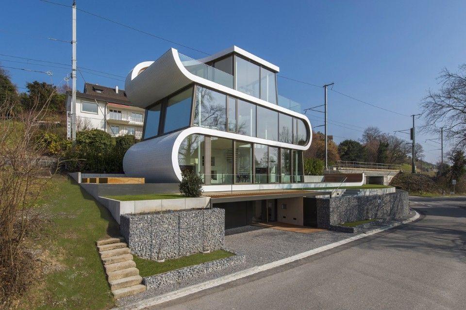 Flexhouse une maison ruban en Suisse par le studio du0027architecture