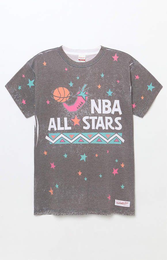 786d7d489 Mitchell & Ness NBA All Stars 1996 T-Shirt   clothes   T shirt ...