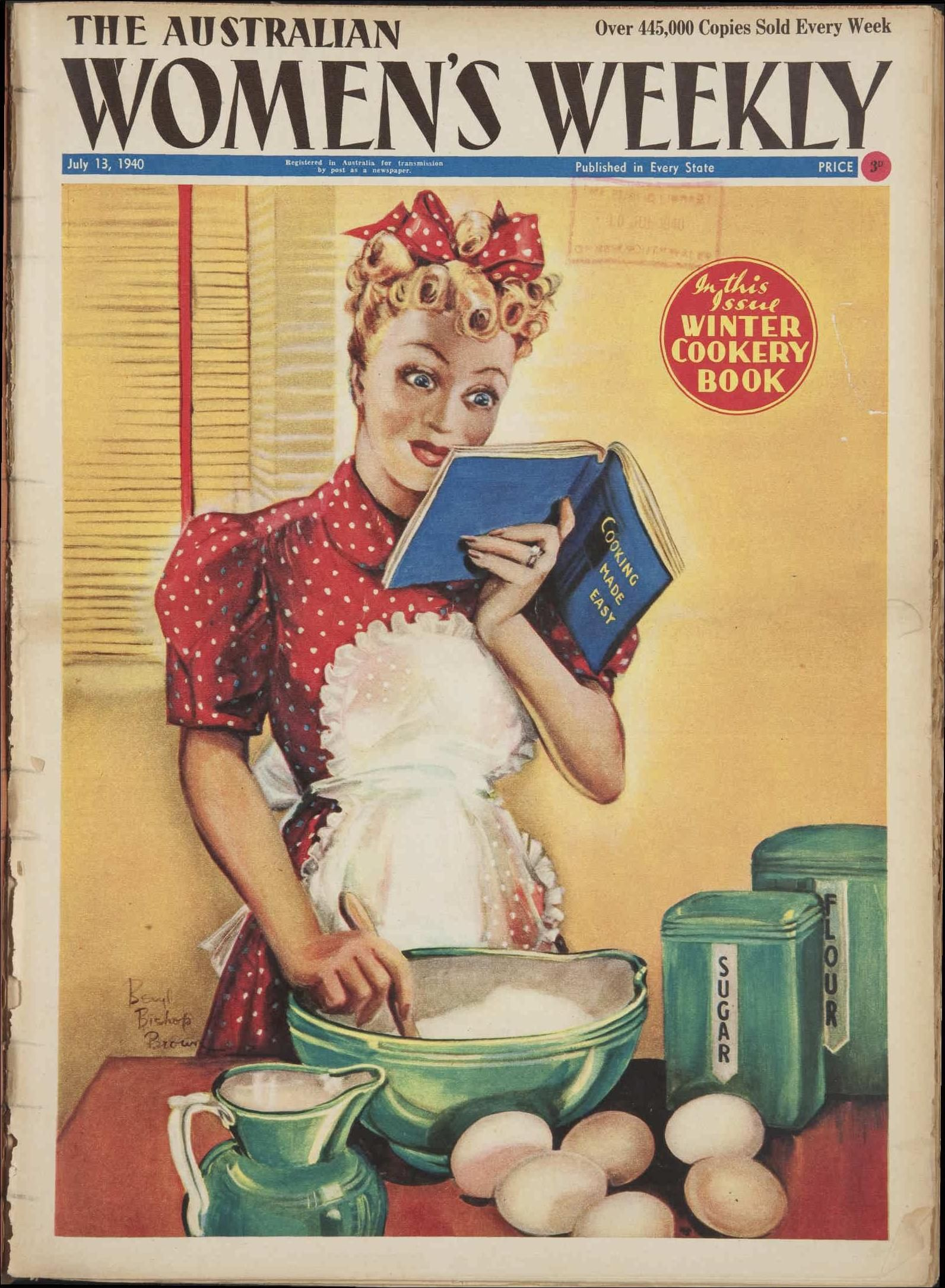 Issue 13 Jul 1940 - The Australian Womens Wee  Books - A Reader -4476