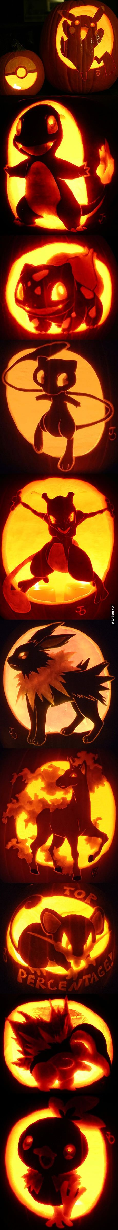 pokemon jack o lantern pumpkin art pumpkin art pokemon and