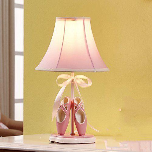 Süsse Nachttischlampe für eine kleine Ballerina