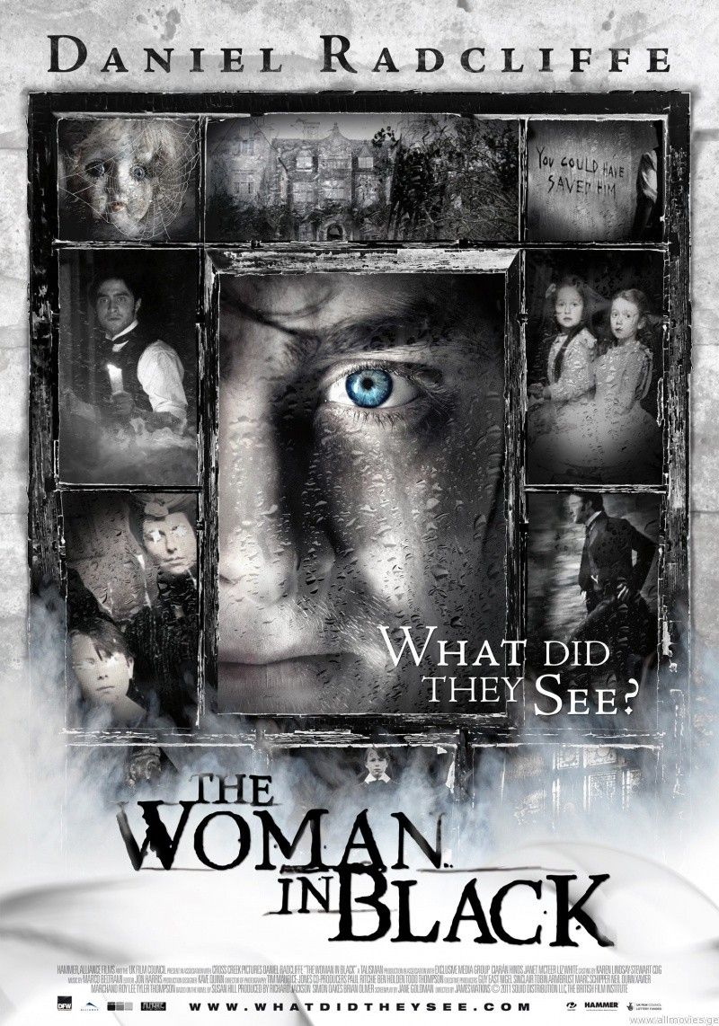 The Woman in Black (2012)...loved this movie...scary, but well done!