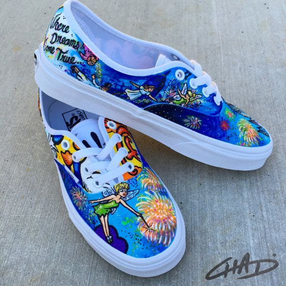 character vans shoes